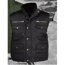 bodywarmer, pocket, zwart