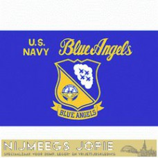 blue angels, vlag