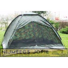 3 persoons camo tent
