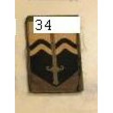nationaal commando embleem 34.