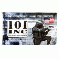101 inc security vlag.