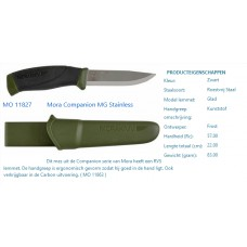 mora companion mg RVS