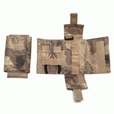 Molle pouch foldable tool tas