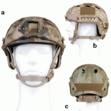Mich fast helm AIRSOFT camo
