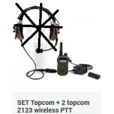 SET Topcom + 2 topcom Z123