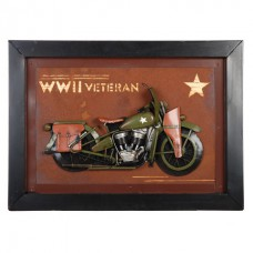 Metalen model Painting WWII Veteran