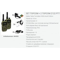 set topcom z122, complete duo set