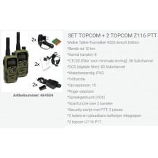 set topcom set z116, duo compleet