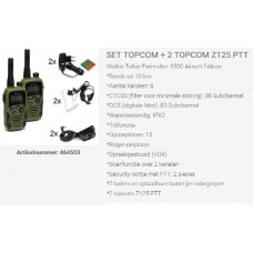 set topcom set z125, duo compleet