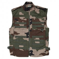 tactical vest french camouflage