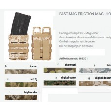 Fast-Mag friction magazijn holder tas