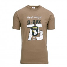 t-shirt D-Day 75 Years bruin