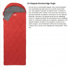 coleman breckenridge slaapzak single