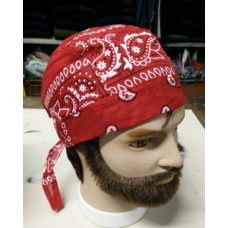 bandana paisely red