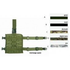 molle leg systeem