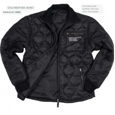 cold weather jacket, zwart