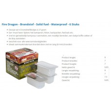 fire dragon solid fuel 27gr/6st