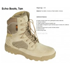 Tactical boots van leer/cordura echo boot, highlander