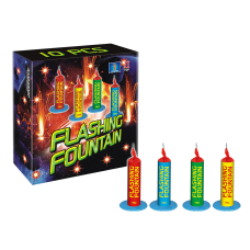 vuurwerk categorie 1, flashing fountain