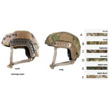 Fast/tactical helmet cover