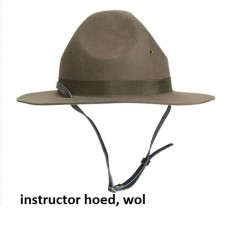 US hat instructor, scouting hoed