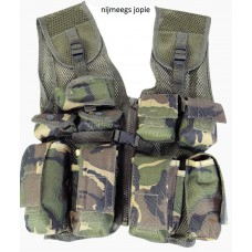 kinder tactical vest, gecamoufleerd
