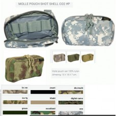 Molle pouch shot shell CO2