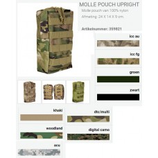 Molle pouch Upright tas