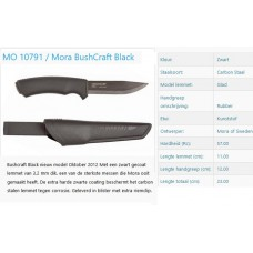 mora bushcraft black