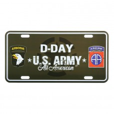autonummerbord D-Day F