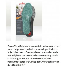 Pedag Viva Outdoor inlegzool