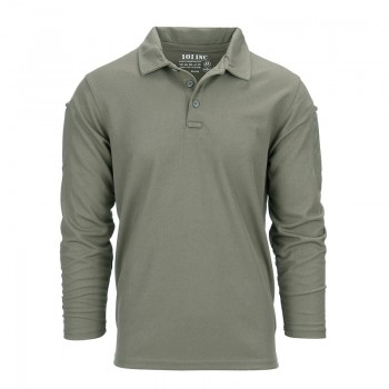 Polo stretch quick dry, groen