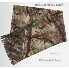 sjaal fleece treecamo