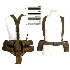 tactical paintbal vest, 4 vertikaal, 1 horizontaal