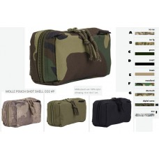 molle pouch shot shell tas