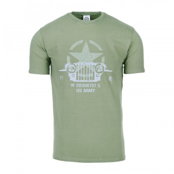 t-shirt allied star willy jeep