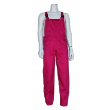 tuinoverall polyester donker roze, carnaval