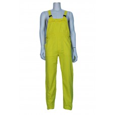 tuinoverall polyester geel, carnaval