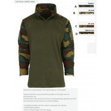 ubac tactical shirt Belgisch, italian, mulitcamo of flecktarn