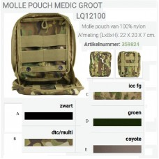 utility pouch groot tas